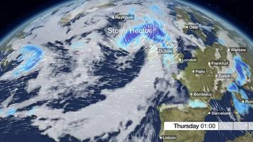 warnings issued as ireland prepares for storm hector