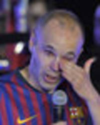 barcelona legend andres iniesta reveals he was snubbed by man city boss pep guardiola