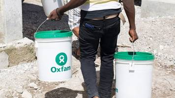 oxfam gb banned from haiti after sex scandal