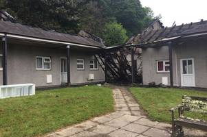 truro fire - evacuated residents of merrifield close return home to assess early hours devastation