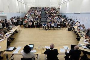 exactly why a penzance council meeting attracted hundreds of people and saw them stay for four hours