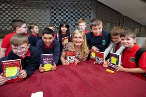 authors and illustrators thrill west lothian pupils at the scottish friendly children's book tour jamboree in glasgow