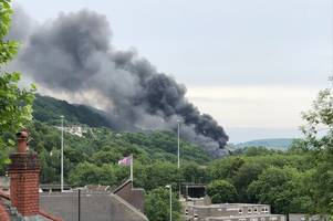 Pontypridd fire: Everything we know after 'explosions' near the A470
