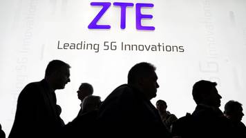 China's telco giant ZTE sees shares collapse 39%
