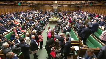 Opposition party walk out of UK parliament