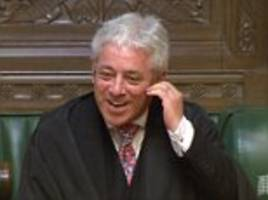 john bercow could quit next summer amid bullying storm