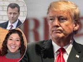 'we'll stop it': doj report says texting fbi lovers talked about keeping trump from winning