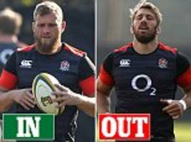 ruthless england head coach eddie jones axes chris robshaw