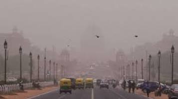Delhi witnessing high pollution levels due to dust storms from Rajasthan