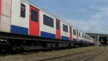 'new' trains made of old london underground carriages