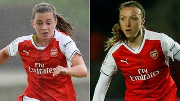 katie mccabe and louise quinn: republic of ireland duo sign new arsenal women deals