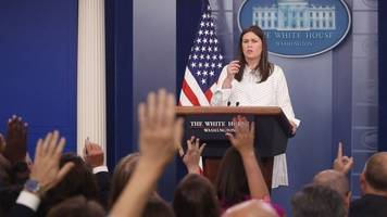 sanders pushes back against report she's leaving the white house