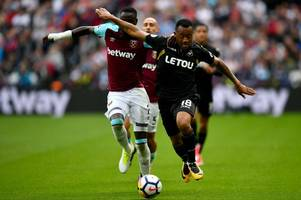 swansea reject £8m fulham bid for jordan ayew as everton, celtic, rangers, wolves and leeds try to secure signing of sheffield wednesday winger sean clare