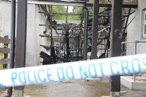 truro man arrested following huge merrifield close fire which saw residents evacuated and homes ruined