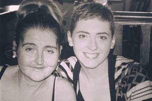 daughter braves the shave for charity after mum diagnosed with cancer
