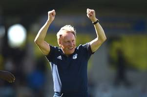 cardiff city make loan offers for four players as neil warnock delivers premier league fixtures verdict