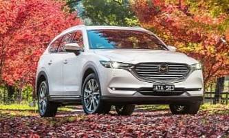 Mazda CX-8 Arrives in Australia With 190 HP Diesel Engine