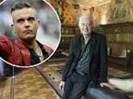 jimmy page reveals the treasures and works of art he says robbie williams is putting at risk