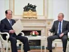 Kim Jong-un writes Putin a note and receives invite to Russia