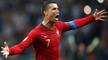 World Cup 2018: Cristiano Ronaldo's free-kick pulls Portugal level against Spain