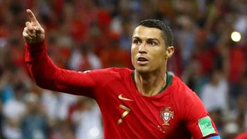 World Cup 2018: Cristiano Ronaldo penalty gives Portugal lead v Spain