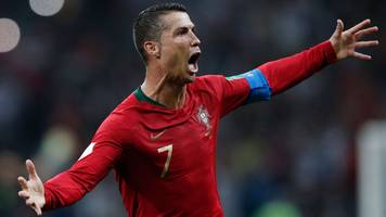 World Cup 2018: Cristiano Ronaldo scores hat-trick as Portugal and Spain draw 3-3
