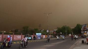 met dept warns of thunderstorm, dust storm in up over next two days