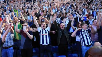 West Bromwich Albion: Government asked to reconsider safe-standing proposal