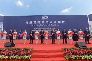 Nord Anglia School, Nantong and Nantong Government Celebrate Ground-breaking Ceremony of Nord Anglia's New Bilingual School Campus