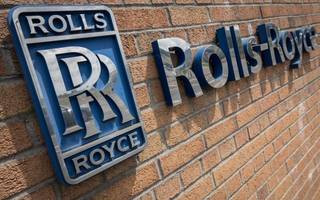 ftse 100 ends the day over 100 points down despite rolls-royce gains