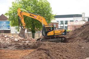 demolition work begins to pave way for athletes village