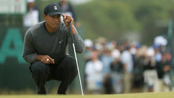 Tiger Woods Near Cut Line at U.S. Open After 78-72 at Shinnecock