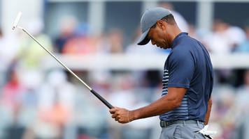 Unable to Avoid 'Others,' Tiger Woods Turned a 72 Into a 78 on Thurday at the U.S. Open