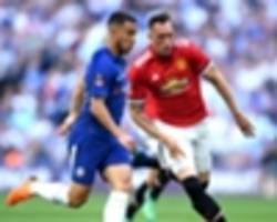 jones over 'cr*p' fa cup final outing as he prepares for hazard reunion