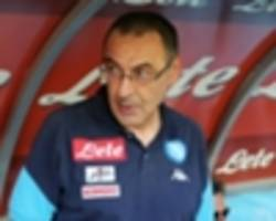 'napoli will not be pillaged' - de laurentiis yet to hear from chelsea over sarri