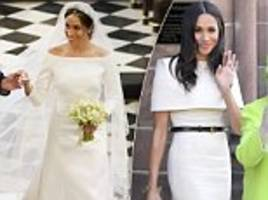 will meghan markle choose givenchy as her go-to designer?