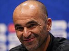 roberto martinez takes gamble on world cup fitness of vincent kompany and thomas vermaelen