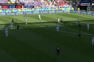 watch argentina strike first vs. iceland