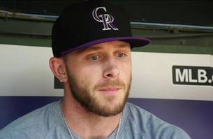 Trevor Story on Playing against his Childhood team   Rangers Live
