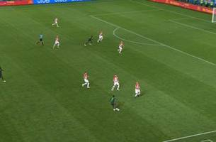IHEANACHO (Nigeria) has a shot which is off target