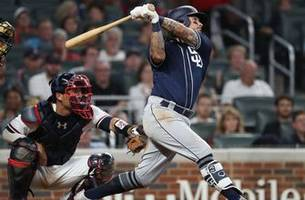 Padres, Braves resume series following eventful Friday night