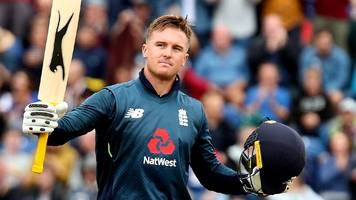 England v Australia: Jason Roy hits 120 to set up 38-run win for hosts