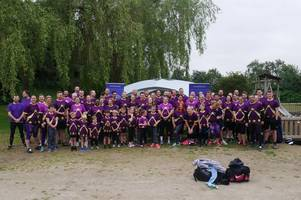 Family and friends raise more than £13,000 for Forever Stars bereavement charity at obstacle race
