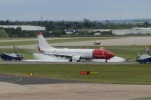 the flights delayed or cancelled from birmingham airport due to runway closure