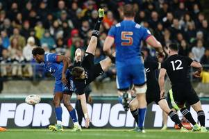 The controversial Benjamin Fall red card that has divided the rugby world