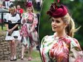 Lady Kitty Spencer joins Prince Harry and Meghan Markle at wedding