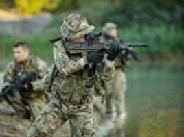 midlands sas soldier killed three taliban fighters to death in cave raid in afghanistan
