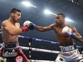 errol spence jr retains ibf welterweight title after first-round knockout win against carlos ocampo
