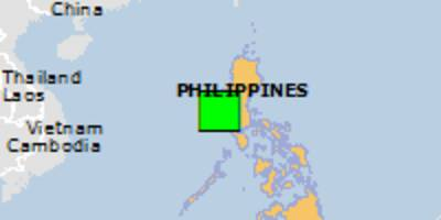green earthquake alert (magnitude 5.5m, depth:34.33km) in philippines 17/06/2018 09:46 utc, 3010000 people within 100km.