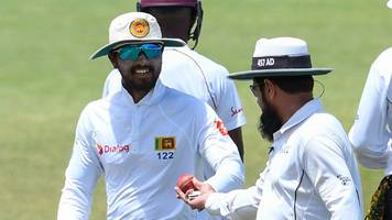 sri lanka captain chandimal charged with ball-tampering